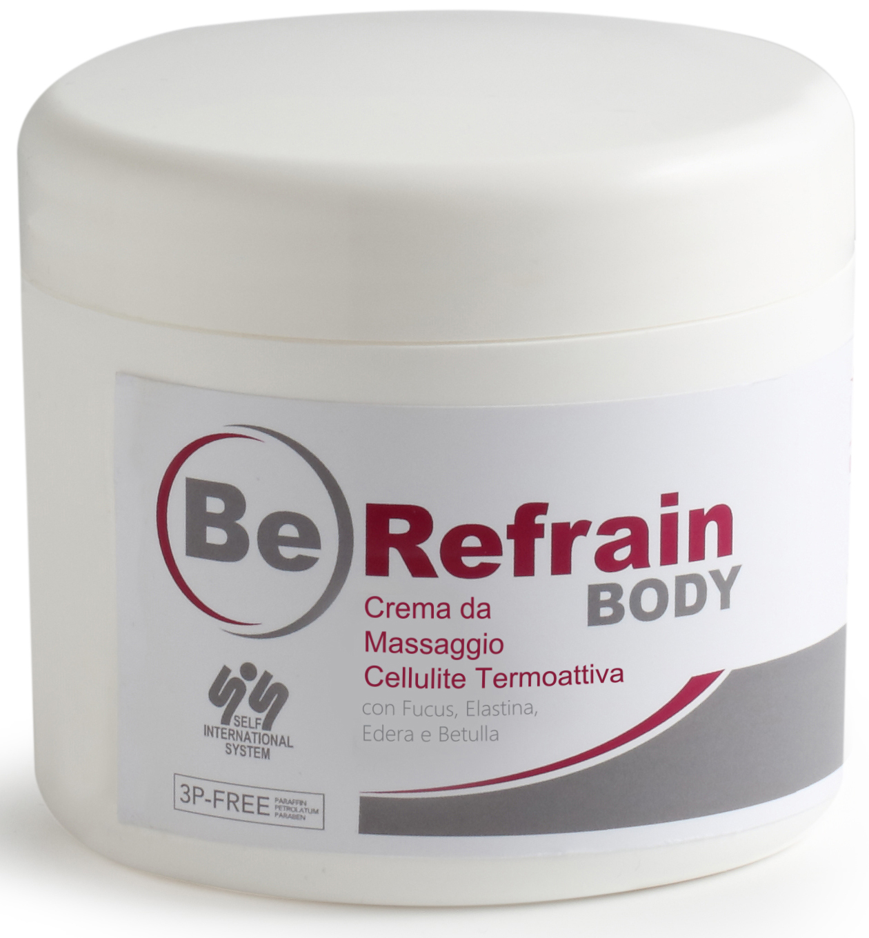 Una crema Massaggio Riducente Cellulite Be Refrain da 500ml in omaggio!