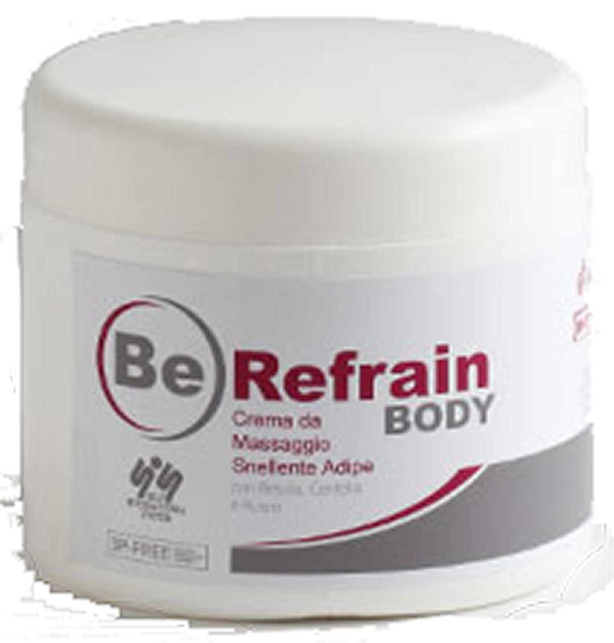 Crema da massaggio Snellente Adipe Be Refrain da ml 500 in omaggio!