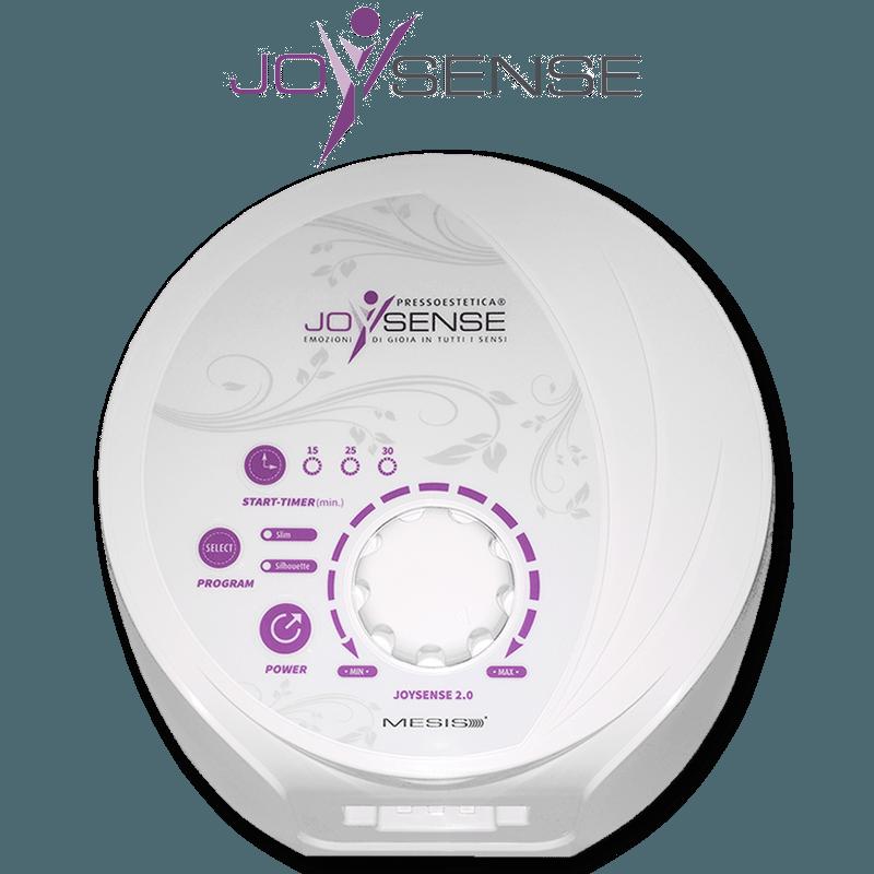 Pressoterapia estetica PressoEstetica JoySense 2.0 con 2 gambali, fascia addominale glutei e bracciale