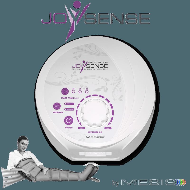 Pressoterapia estetica PressoEstetica MESIS JoySense 2.0 con 2 gambali e kit estetica