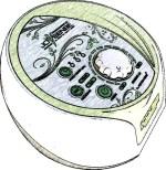 Disegno della pressoterapia PressoEstetica Joysense 3.0