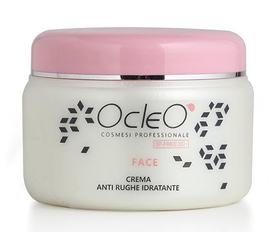 Crema Antirughe Idratante Viso Ocleo' ml 500 in omaggio!